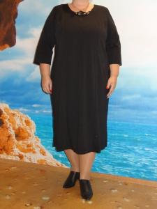 """платье """"Классика"""" арт.166 (черный)"""